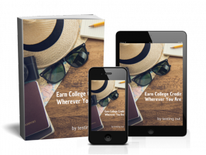 "Learn More Download the FREE eBook "" Earn College Credit Wherever You Are"""