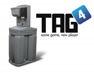 Tag 4 Free-Standing Handwash Station from Satellite Industries