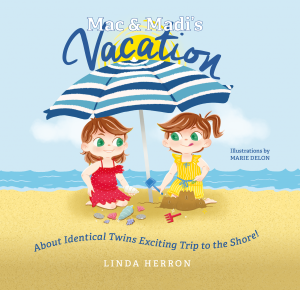 f Mac & Madi's Vacation: About Identical Twins Exciting Trip to the Shore!
