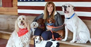 "Jill Rappaport, host of ""Rappaport To The Rescue"" on Pet Life Radio"