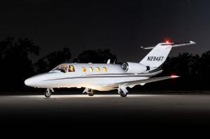IADA dealers note that light jets, like this CitationJet, have only dropped in price by about 10 percent during the pandemic and economic fallout. This jet is listed exclusively by CFS Jets at https://aircraftexchange.com/.