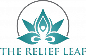 The Relief Leaf Logo