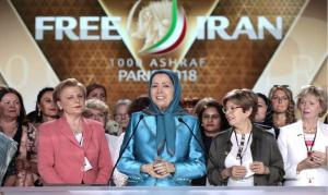 FreeIran2020 Global Summit 2018 Women Maryam Rajavi