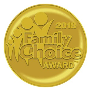 2018 Family Choice Award Seal