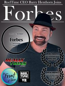 ReelTimes CEO Barry Henthorn joins Forbes