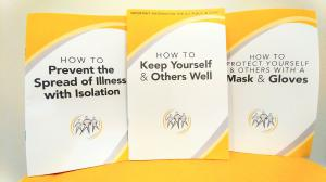Church of Scientology How to Stay Well Prevention Resource Center's  three booklets