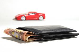 Car and wallet to release cash from your car