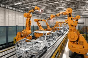 Vehicle assembly plant_DataProphet_AI manufacturing solution for automakers