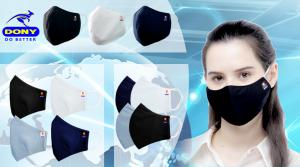 Quality Reusable Cloth Face Mask For COVID: Fashionable, Protective, Breathable, Soft Ear Loops, Non-irritating (FDA & CE Approved)
