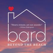2020 logo for Bard on the Beach which says Bard Beyond the Beach