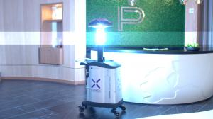 Paramount Miami Reception Zapped by COVID-Killing LightStrike Robot