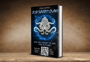 JoinWith.Me, book cover for hardcopy, with QR Code