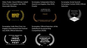 Recognition for JoinWith.Me trailer and screenplay