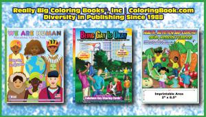 Publishing Diversity Coloring Books
