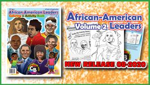 Volume II African Amerian Leaders Really Big Coloring Book
