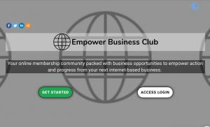Empower action and progress from your next internet-based business