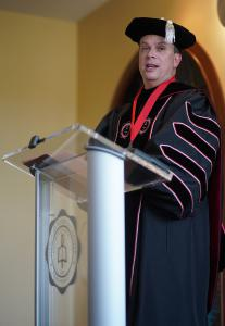 Dr. William Downs, 13th President of Gardner-Webb University, Offers Remarks