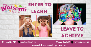 Blossoms daycare calgary at two locations - Franklin SE and Temple NE. Visit- https://blossomsdaycare.ca/