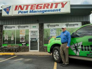 Integrity Pest Management is located in Sand Springs, OK.