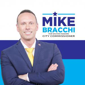 Mike Bracchi running for Wilton Manors City Commission in Broward County