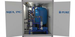 Containerized Water Filtration System