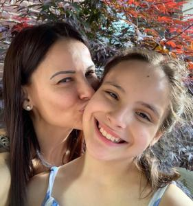 Betty Gil and Daughter