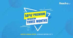 ReachOut Premium Plan at 50% Off