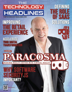 The Technology Headline cover story on Paracosma Inc as a leading AR/VR company 2018