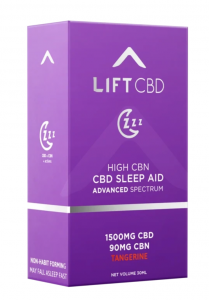 Lift CBD Sleep Aid. Your path to better sleep might just begin here.