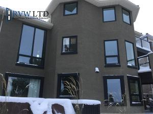 Black Vinyl Windows
