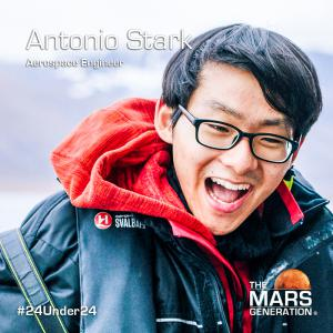 The Mars Generation_24 Under 24_2020 Winner_Antonio Stark