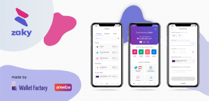 areeba launched mobile wallet Zaky in Lebanon using Wallet Factory's solution
