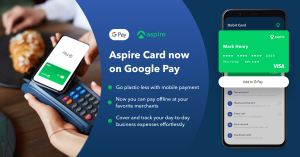 Aspire x Google Pay: Just Launched!