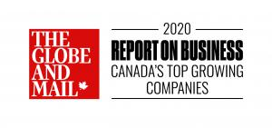 QuickContractors.com Globe & Mail Award 2020