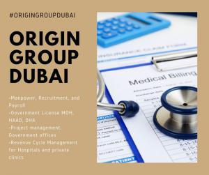Dubai Healthcare City based Origin Group Services for Medical Businesses