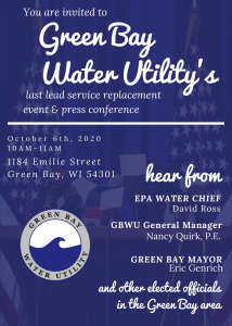 Multi-million Dollar Lead Pipe Removal Wraps up October 6th in the City of Green Bay 1