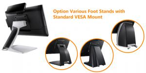 Optional Various Foot Stands with Standard VESA Mount