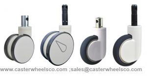 central locking casters wheels