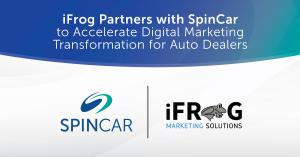 iFrog and SpinCar partner to provide the auto industry with merchandising and marketing solutions