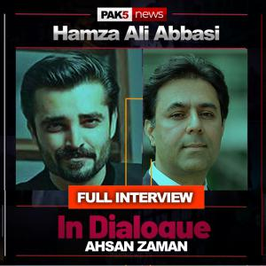 Hamza Ali Abbasi - In Dialogue With Ahsan Zaman - Pak5 News