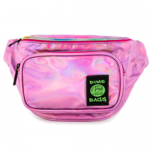 Waist Bag Party Pack in Disco Pink | Dime Bags | Fanny Pack |Holographic pInk