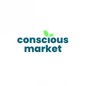 Conscious Market provides a platform for vegan products and environmental community resources.