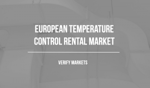Europe temporary heating and cooling equipment rental market research report