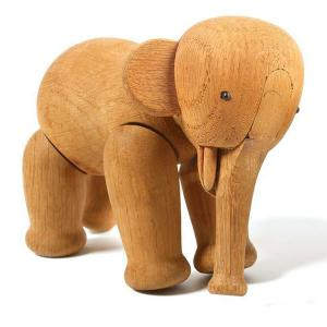 Wooden elephant toy, Kay Bojeson, 1950s
