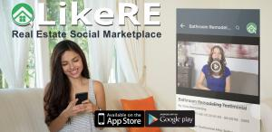 Download the LikeRE mobile app