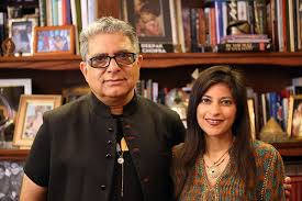 Dr. Shamini Jain, founder of The Consciousness and Healing Initiative teaches us about the science of biofield healing and how we can heal our energy. She's pictured here with Deepak Chopra, a founding advisor of The Consciousness Healing Initiative.