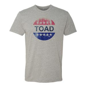 Vintage VOTE logo parody with Toad the Wet Sprocket Logo
