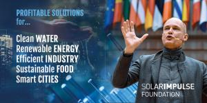 Solar Impulse Foundation climate solutions