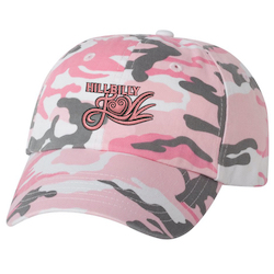 Hillbilly Love Pink Camo Cap
