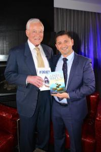 Tony J. Selimi Interview Photo on Brian Tracy Show for NBC, ABC, CBS and FOX